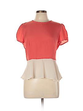 Petticoat Alley Short Sleeve Blouse Size L