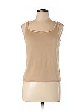 Ann Taylor Factory Sleeveless Silk Top Size L