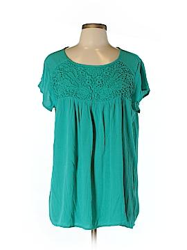 Nicole Miller New York City Short Sleeve Top Size XL