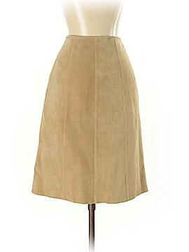 Ann Taylor Leather Skirt Size 4