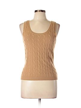 Malika Cashmere Pullover Sweater Size L
