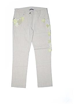 Ermanno Scervino Linen Pants Size 12