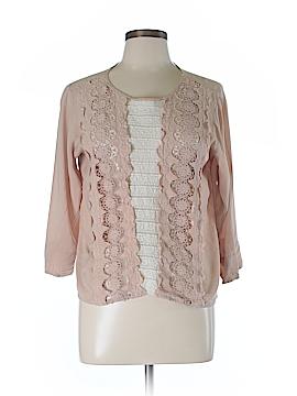 Beyond Vintage 3/4 Sleeve Blouse Size L
