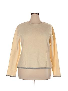 Eddie Bauer Wool Pullover Sweater Size XXL (Tall)