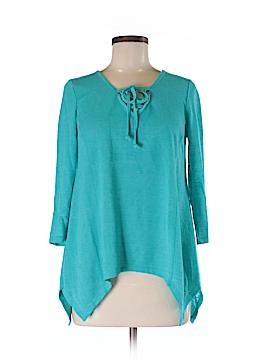 Como Vintage 3/4 Sleeve Blouse Size M