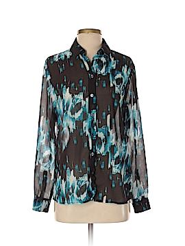 Derek Lam for DesigNation Long Sleeve Button-Down Shirt Size S
