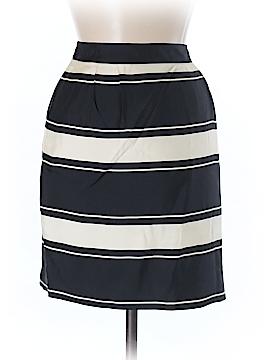 J. Crew Silk Skirt Size 8 (Petite)