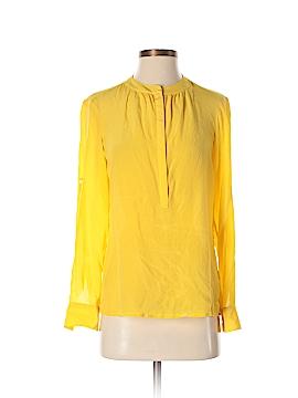 Banana Republic Long Sleeve Silk Top Size XS