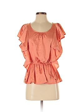 WD.NY Short Sleeve Blouse Size M