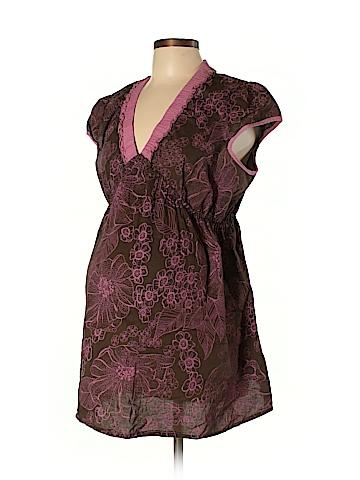 Duo Maternity Short Sleeve Blouse Size XL (Maternity)