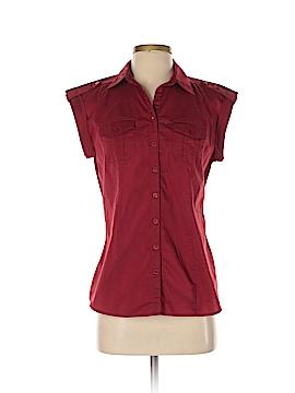 Worthington Short Sleeve Button-Down Shirt Size S