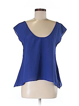 Material Girl Short Sleeve Blouse Size M