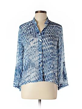 Ruby Rd. Long Sleeve Button-Down Shirt Size 12 (Petite)