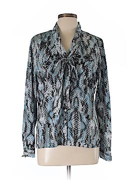 Ellen Tracy Long Sleeve Blouse Size 12