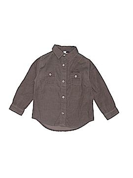 Sergent Major Long Sleeve Button-Down Shirt Size 3T