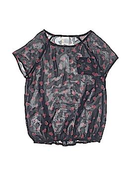 B Jewel Short Sleeve Blouse Size 12