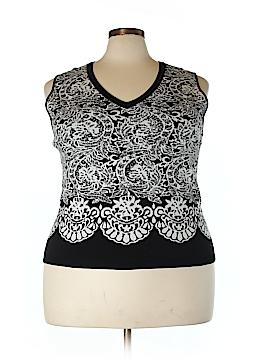 RACHEL Rachel Roy Sweater Vest Size 3X (Plus)