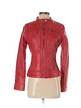 MICHAEL Michael Kors Leather Jacket Size XS