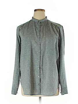 Lou & Grey Long Sleeve Button-Down Shirt Size XL