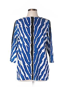 DG^2 by Diane Gilman 3/4 Sleeve Top Size L