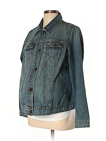 Old Navy Denim Jacket Size L (Maternity)