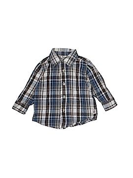 Timberland Long Sleeve Button-Down Shirt Size 12 mo