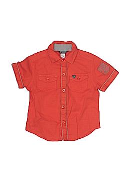 Guess Short Sleeve Button-Down Shirt Size 2T