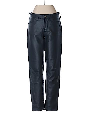 J. Crew Faux Leather Pants 26 Waist