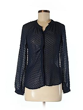 Boden Long Sleeve Silk Top Size 2