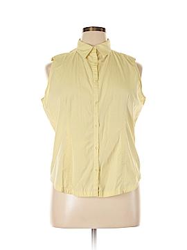 Columbia Sleeveless Button-Down Shirt Size XL