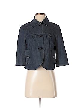 Larry Levine Denim Jacket Size S (Petite)