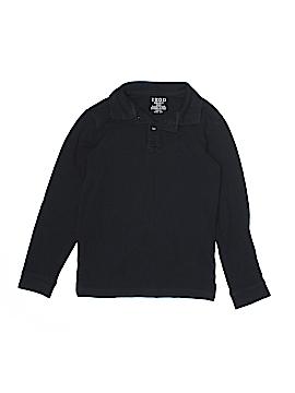 IZOD Long Sleeve Polo Size Medium kids (10/12)