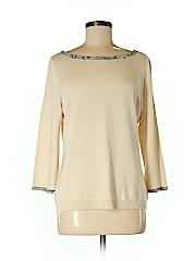 Ellen Tracy Women Silk Pullover Sweater Size M