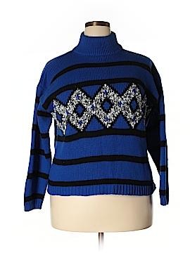 Diana Marco Turtleneck Sweater Size 24W (Plus)