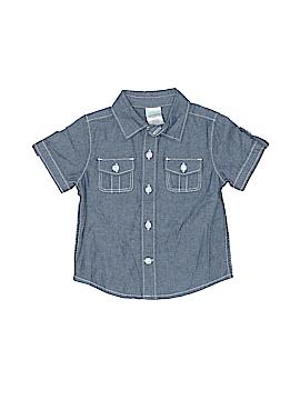 Gymboree Short Sleeve Button-Down Shirt Size 3-6 mo