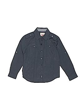 Sovereign Code Long Sleeve Button-Down Shirt Size 5