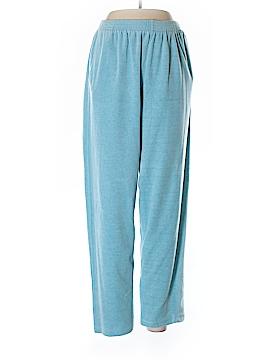 Alfred Dunner Fleece Pants Size 14
