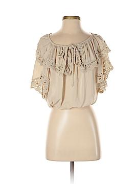 Arden B. Short Sleeve Blouse Size S