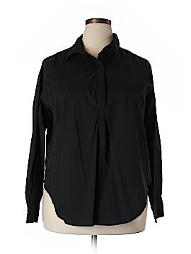 Universal Standard Long Sleeve Blouse Size M (Plus)