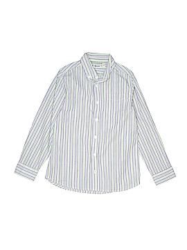 Ruum Long Sleeve Button-Down Shirt Size 7 - 8