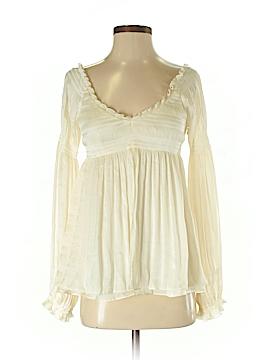 Diane von Furstenberg Long Sleeve Blouse Size 2