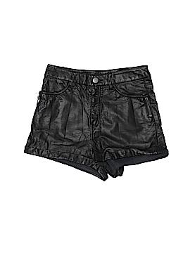 H&M Faux Leather Shorts Size 2