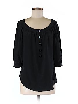 Trina Turk 3/4 Sleeve Silk Top Size M
