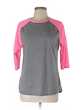 Danskin Now 3/4 Sleeve T-Shirt Size L