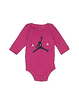 Air Jordan Long Sleeve Onesie Size 0- 6 mo
