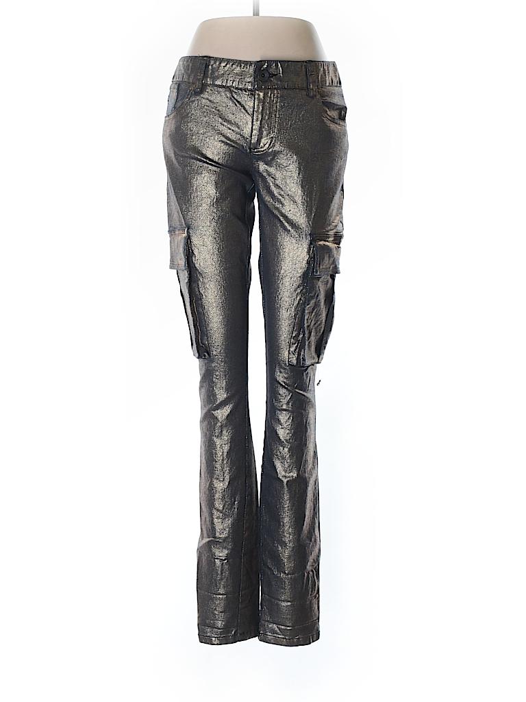 a013df9d3afe5 alice + olivia Metallic Gold Cargo Pants Size 4 - 80% off | thredUP