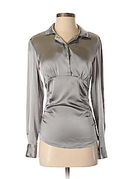 Chaiken Long Sleeve Silk Top Size 4