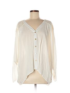 Uniq Long Sleeve Blouse Size M