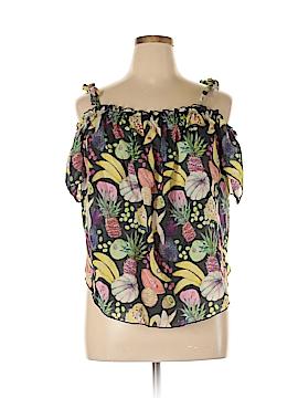 Rachel Antonoff Short Sleeve Blouse Size XL
