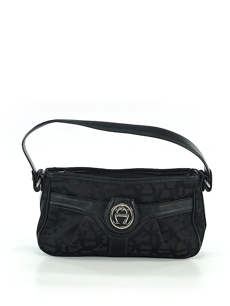 6cfe22259958 Etienne Aigner Solid Black Shoulder Bag One Size - 97% off